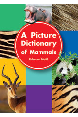 Literacy by Design Big Book Grade K Picture Dictionary of Mammals | Language Arts / Reading
