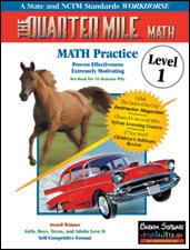 The Quarter Mile Math: Level 1 | Math