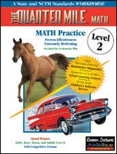 The Quarter Mile Math: Level 2 | Math