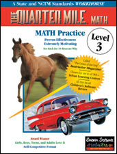 The Quarter Mile Math: Level 3 | Math