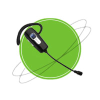 BT-201 Noise Canceling Bluetooth Headset   Headphones & Listening Centers