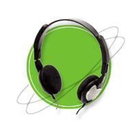 HS-75 Stereo Headphones   Headphones & Listening Centers