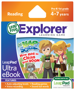 Leapfrog - LeapPad Ultra eBook LeapSchool How Not to Clean Your Room   Language Arts / Reading