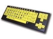 VisionBoard2 Large Key Keyboard - Yellow | Keyboards & Mice