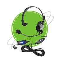 NC-181VM USB Anti-Noise PC Noise Canceling Headset   Headphones & Listening Centers