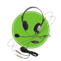 NC-185VM Anti-Noise PC Noise Canceling Headphone   Headphones & Listening Centers