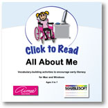 Click to Read: All About Me | Special Education
