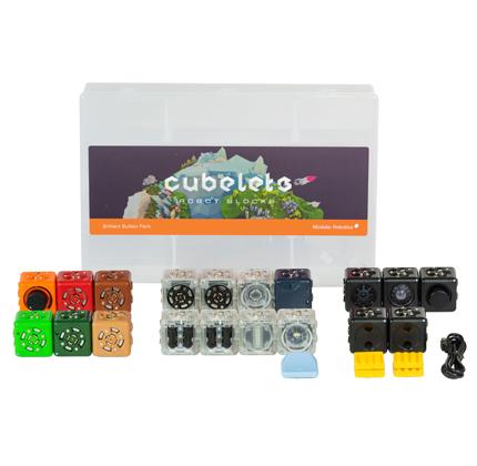Modular Robotics Cubelets Brilliant Builder Pack | Modular Robotics