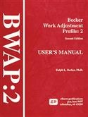 BWAP-2: Becker Work Adjustment Profile-Second Edition | Special Education
