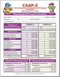 CAAP-2: Phonological Process Evaluation Forms (30) | Special Education