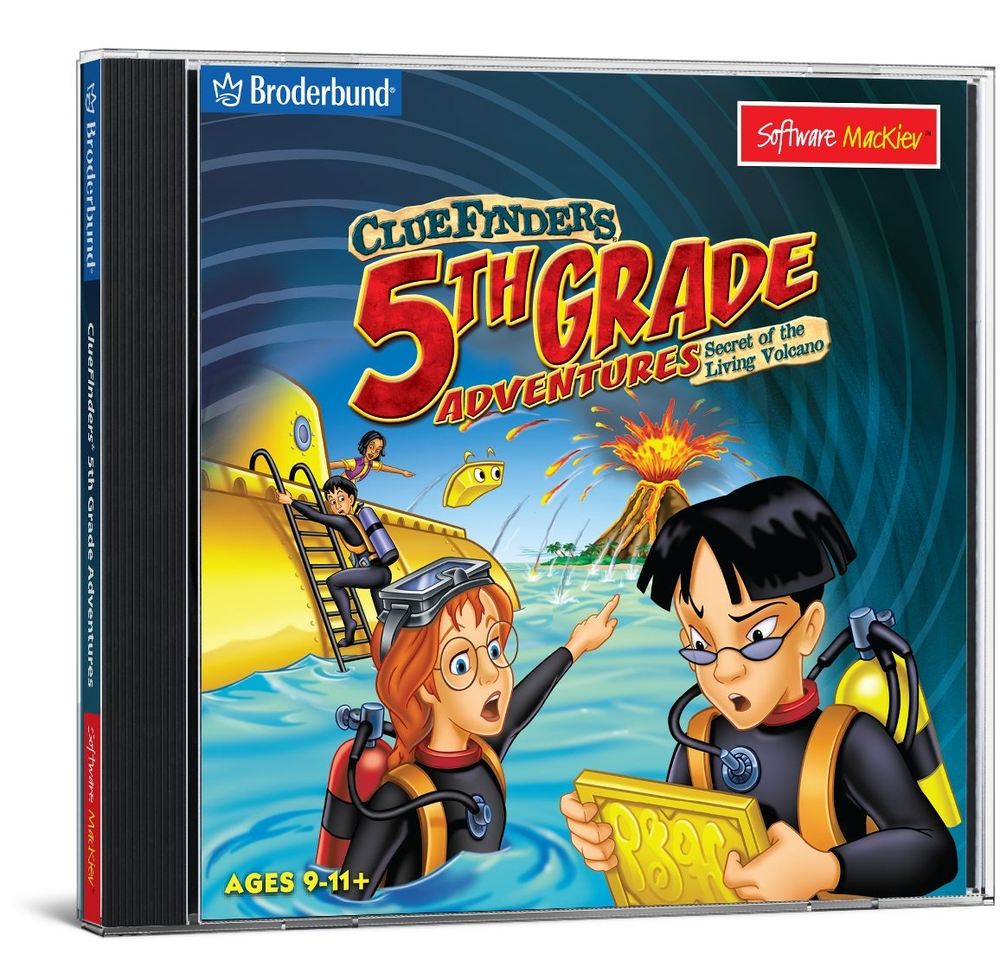 ClueFinders 5th Grade Adventures - Mac / Win Hybrid | Critical Thinking