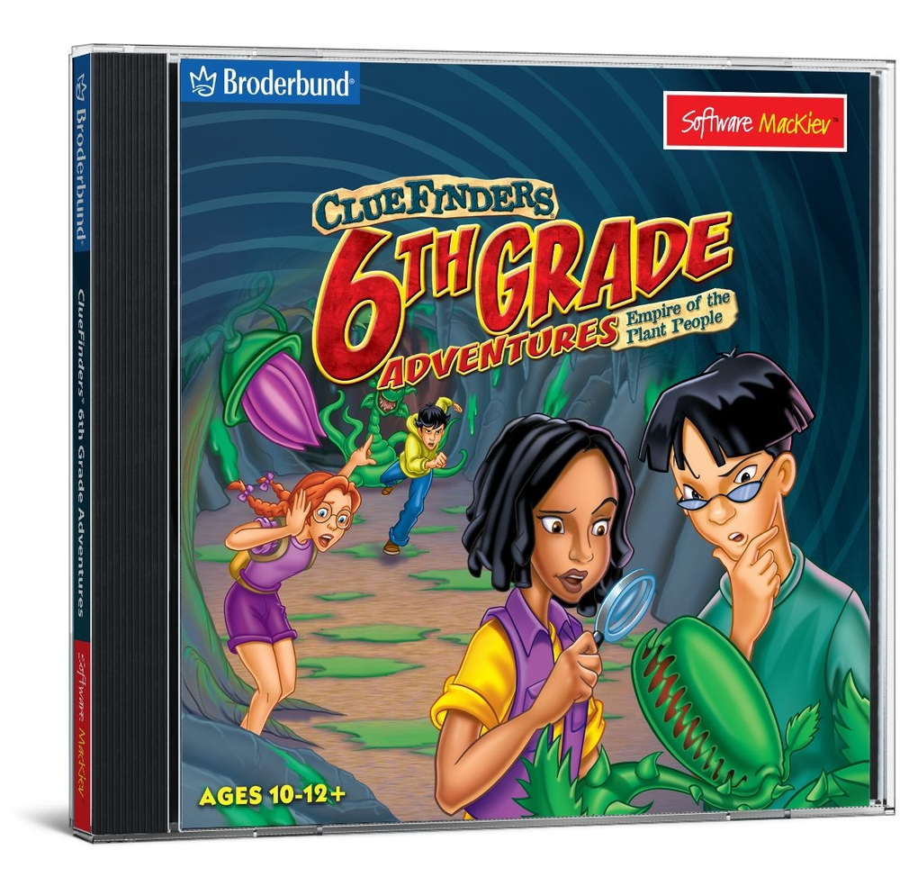 ClueFinders 6th Grade Adventures - Mac / Win Hybrid | Critical Thinking