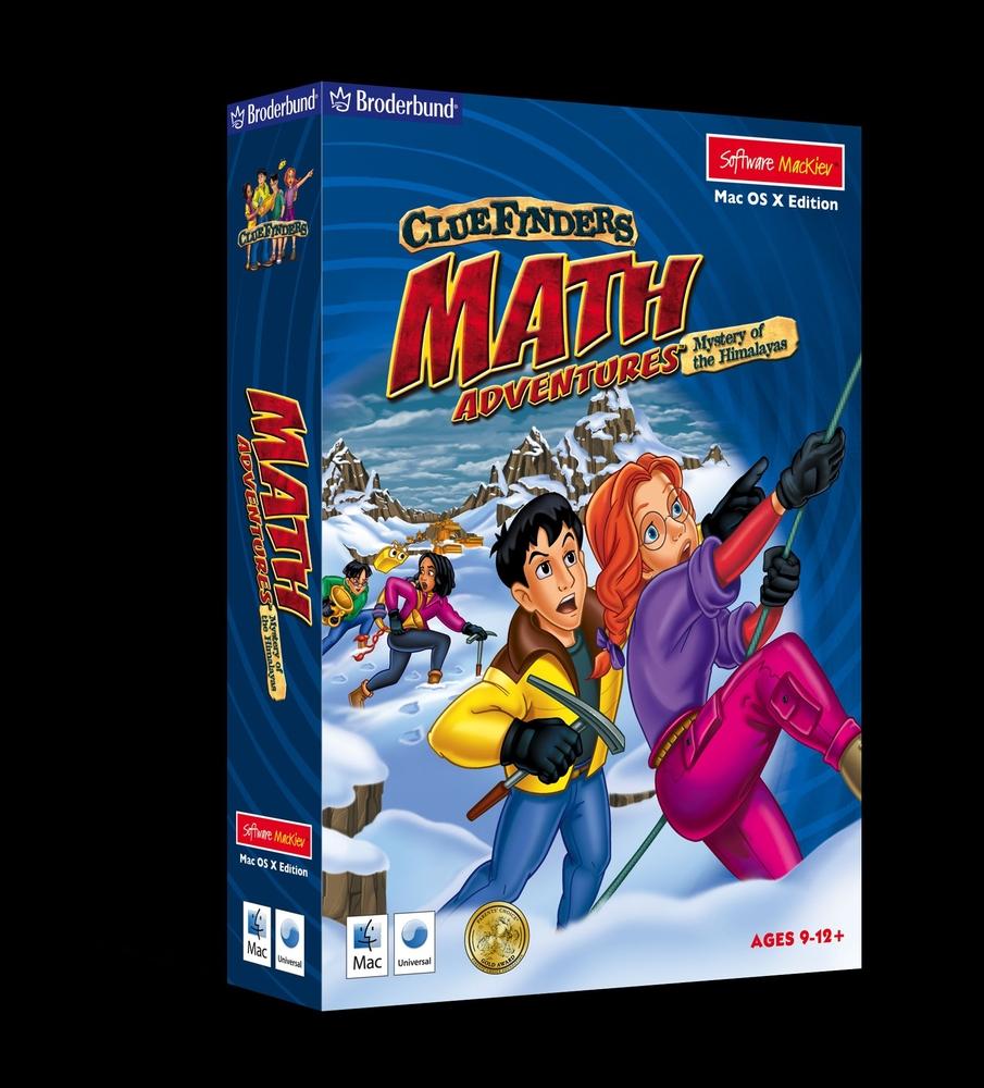 ClueFinders Math Adventures - Mac  / Win Hybrid | Math