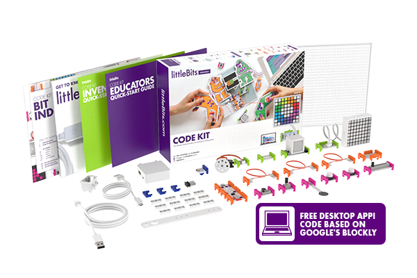 littleBits Code Kit Individual | Science