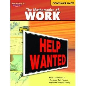 Consumer Mathematics Reproducible The Mathematics of Work | Math