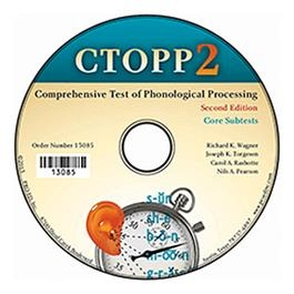 CTOPP-2: Core Subtest CD-ROM | Special Education