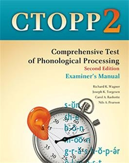 CTOPP-2: Examiner's Manual | Special Education