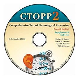 CTOPP-2: Supplemental Subtest CD-ROM | Special Education