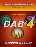 DAB-4 Student Booklet | Special Education
