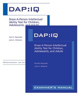 DAP:IQ Administration/Scoring Forms (50) | Special Education