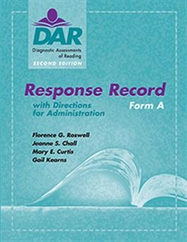 DAR-2 Response Record Form A (15) | Special Education