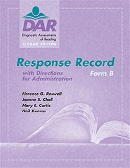 DAR-2 Response Record Form B (15) | Special Education