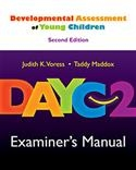 DAYC-2: Examiner's Manual | Special Education