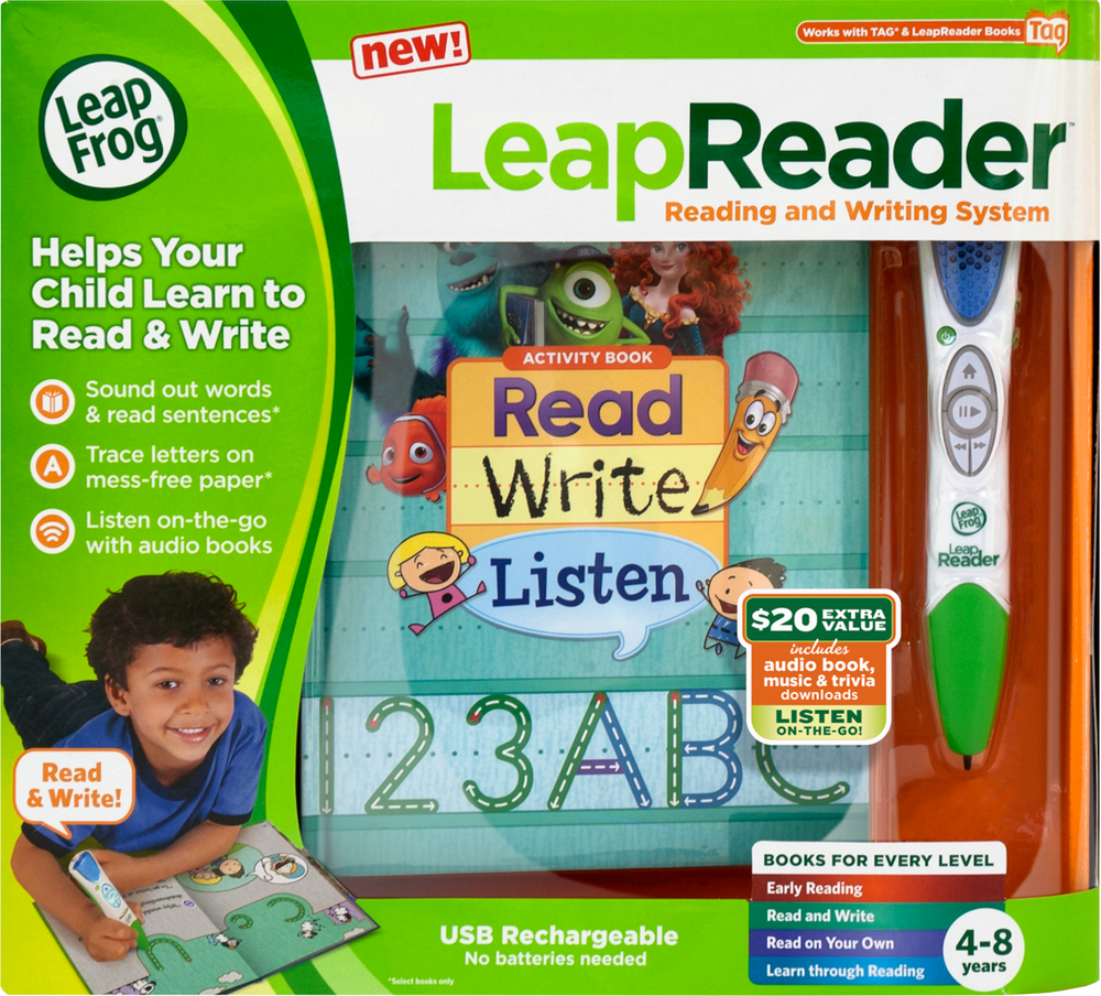 LeapFrog LeapReader Reading and Writing System | Language Arts / Reading