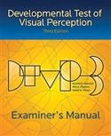 DTVP-3: Examiner's Manual | Special Education
