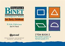 Early SB5 Item Book 2 | Special Education