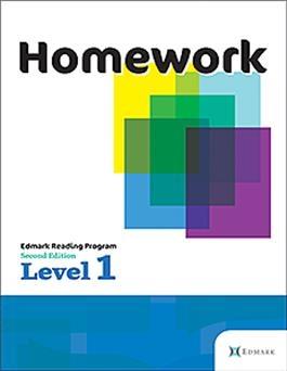 Edmark Reading Program: Level 1 Second Edition, Homework   Special Education