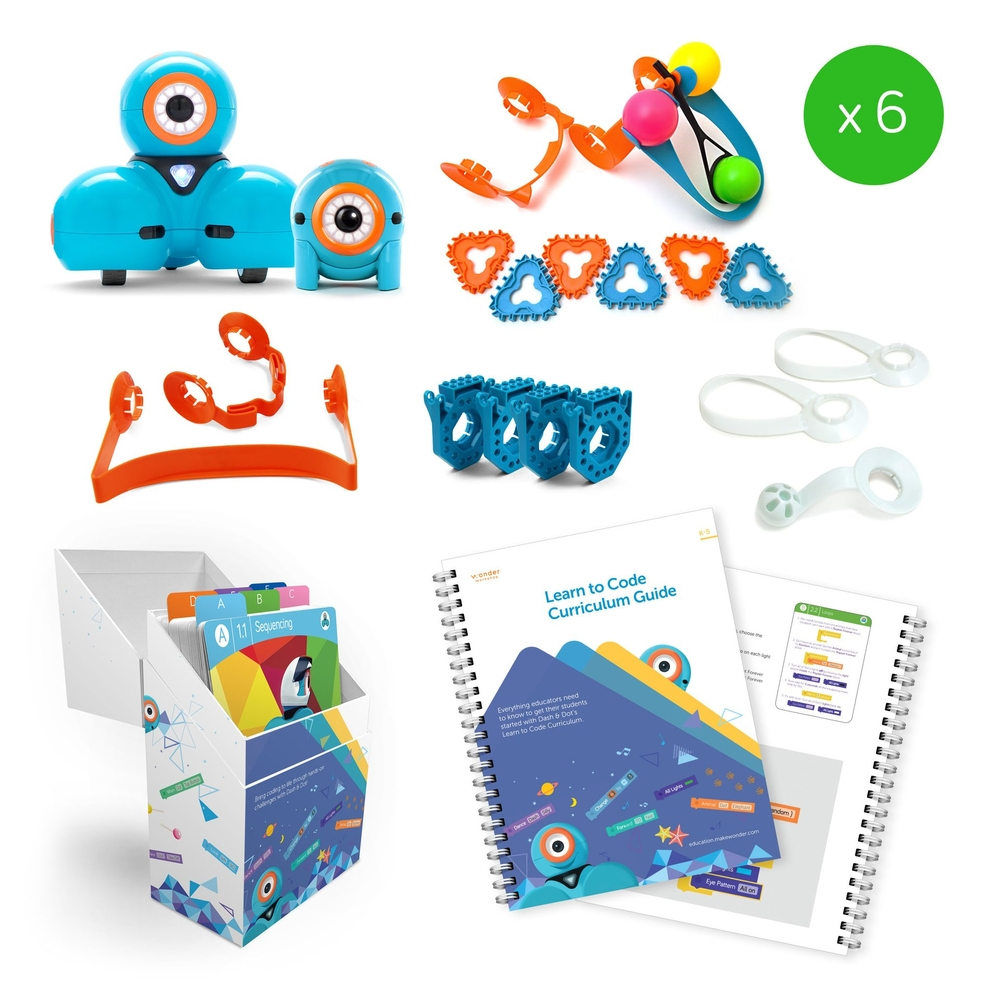Dash & Dot Classroom Pack | Wonder Workshop