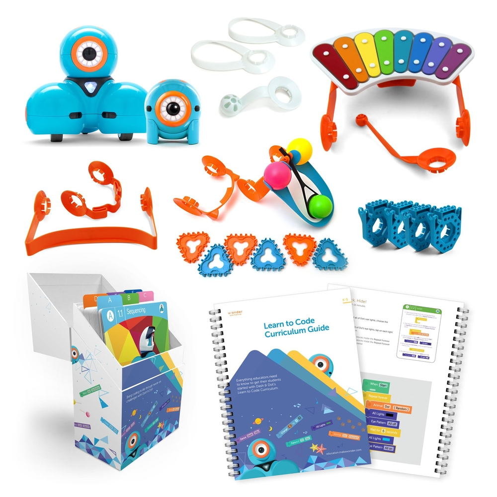 Wonder Pack + Curriculum Bundle   Wonder Workshop