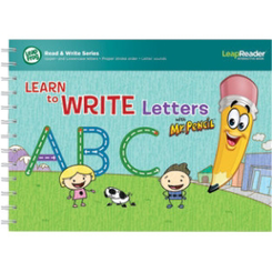 Deluxe Writing Workbook: Learn to Write Letters with Mr Pencil for LeapReader | Language Arts / Reading