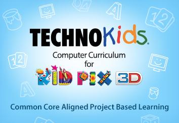 TECHNOKids Computer Curriculum for Kid Pix 3D