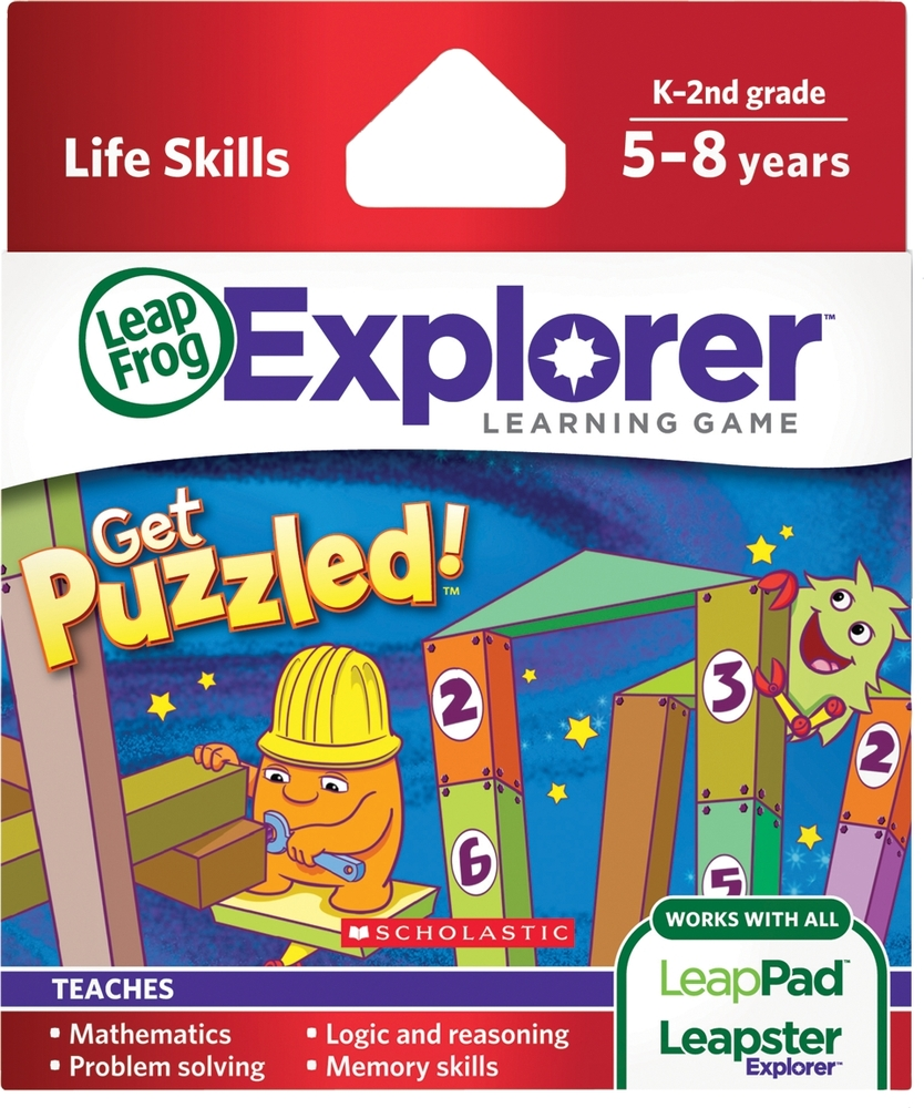 LeapFrog LeapPad Game: Scholastic Get Puzzled | Language Arts / Reading