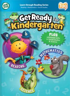 LeapFrog LeapReader Book: Get Ready for Kindergarten | Language Arts / Reading