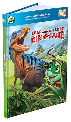 LeapFrog LeapReader Book: Leap and the Lost Dinosaur | Language Arts / Reading