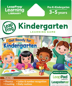 LeapFrog LeapPad Game Pack: Get Ready for Kindergarten | Language Arts / Reading