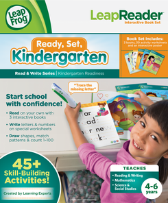LeapFrog LeapReader Read & Write Book Set: Ready, Set, Kindergarten   Language Arts / Reading