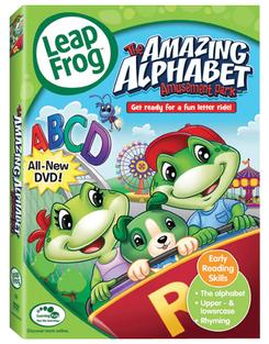 LeapFrog The Amazing Alphabet Amusement Park DVD   Language Arts / Reading