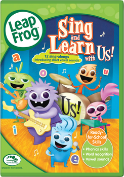 LeapFrog: Sing and Learn with Us DVD | Language Arts / Reading
