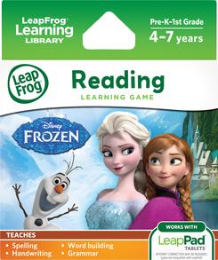 LeapFrog LeapPad Game: Disney Frozen | Language Arts / Reading