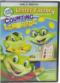 LeapFrog Letter Factory Adventures Counting on Lemonade DVD | Language Arts / Reading