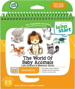 LeapFrog LeapStart The World of Baby Animals Book   Language Arts / Reading