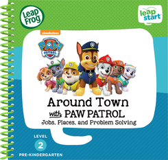 LeapFrog LeapStart 3D Around Town with PAW Patrol Book | Language Arts / Reading