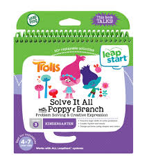 LeapFrog LeapStart 3D Solve It All with Poppy & Branch Trolls Book | Language Arts / Reading