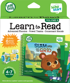 LeapFrog LeapStart Learn to Read Book Set 2   Language Arts / Reading