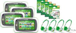 LeapFrog LeapPad Ultimate Bundle 4 Pack | Language Arts / Reading