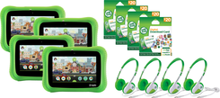 LeapFrog Epic 2.0 Academy Edition Bundle (4-Pack) | Math